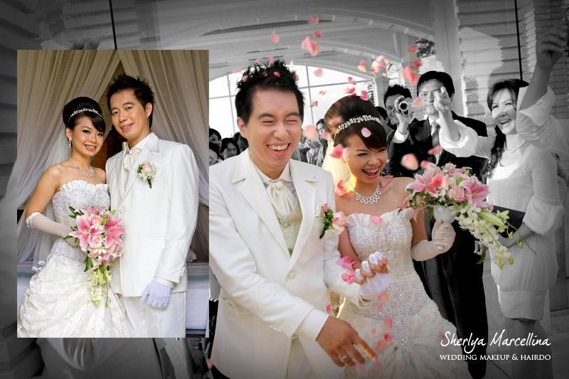 wedding in bali makeup